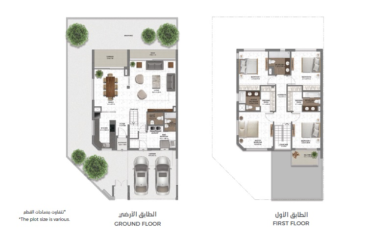 MAG EYE Townhouses at Meydan Dubai Floor Plan