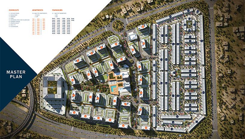 MAG EYE Townhouses at Meydan Dubai Master Plan